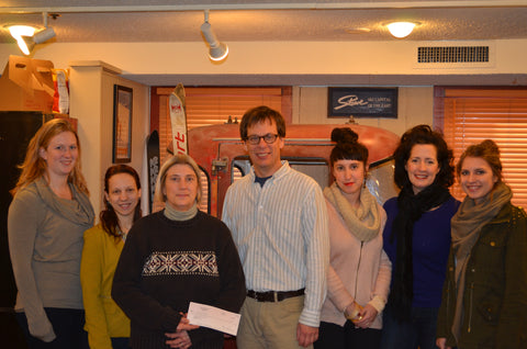 Stowe Mercantile Donation to Lamoille Community Food Share