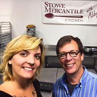 Stowe Mercantile Kitchen Father and Daughter