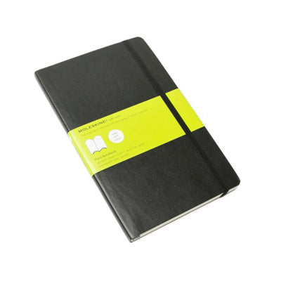 Moleskine Notebook - Classic Soft Cover Large Plain Black