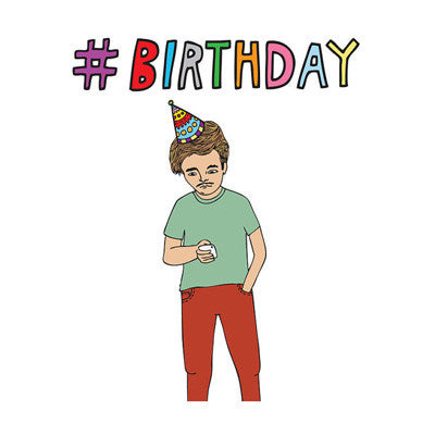 Able & Game Card - Hashtag Birthday