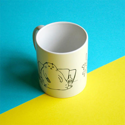 Able & Game -  I Love You Just The Way I Am Cat Mug
