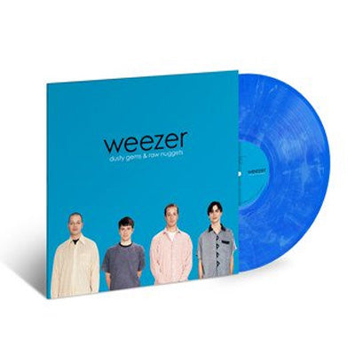 Weezer - Dusty Gems and Raw Nuggets: The B-Sides - Blue & White Swirl Vinyl (RSD19)