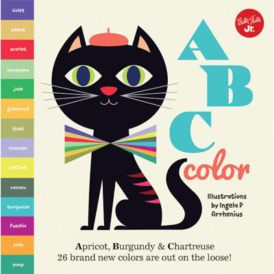ABC Color : Apricot, Burgundy & Chartreuse, 26 brand new colors are out on the loose!