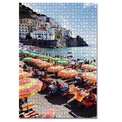 Journey Of Something 1000 Piece Puzzle - Amalfi Neapolitan