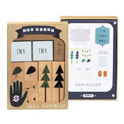 Ask Alice - Rubber Stamping Kit