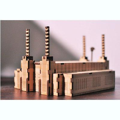 Battersea Power Station - Gin & Apathy Model