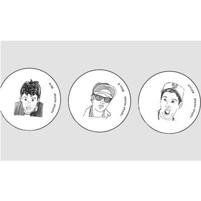 Beastie Boys - Badges & Magnets