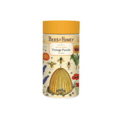 Cavallini & Co Vintage Puzzle - Bees & Honey (1000 Piece Jigsaw)