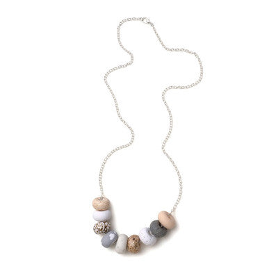 Emily Green Necklace - Bianca 9 Bead