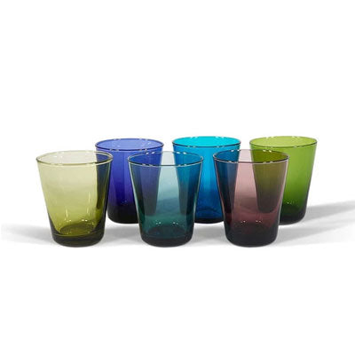 Bison Home Glassware - Bora Bora Tumbler (6 Pack)