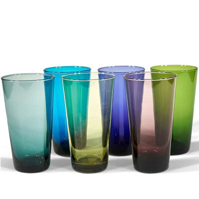 Bison Home Glassware - Moorea Hi Ball Glasses (Set of 6)