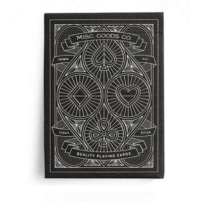 Black Deck Of Playing Cards - Misc. Goods Co.