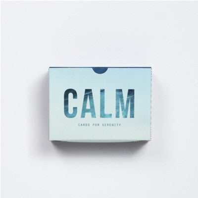 School Of Life Prompt Cards - Calm