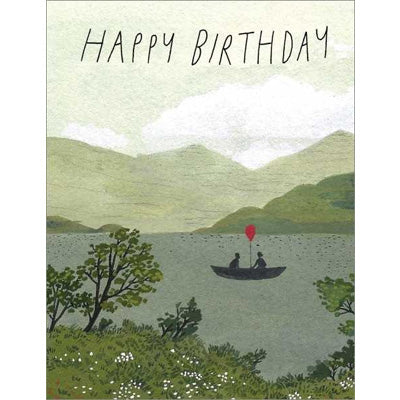 Becca Stadtlander Card - Happy Birthday Canoe