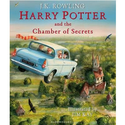 Harry Potter and the Chamber of Secrets (Illustrated Hardback Edition)
