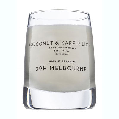 Scent Of Home Candle - Clear Coconut & Kaffir Lime
