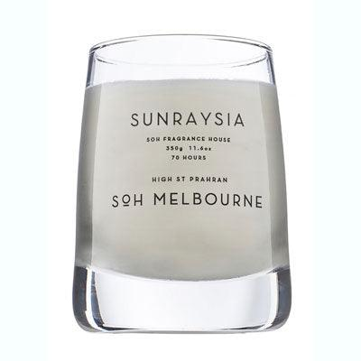Scent Of Home Candle - Clear Sunraysia