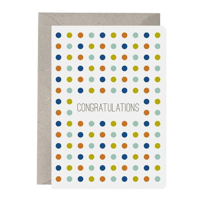 Think Tree Card - Congratulations Confetti