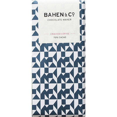 Bahen & Co Chocolate - Cracked Coffee 70% Cacao