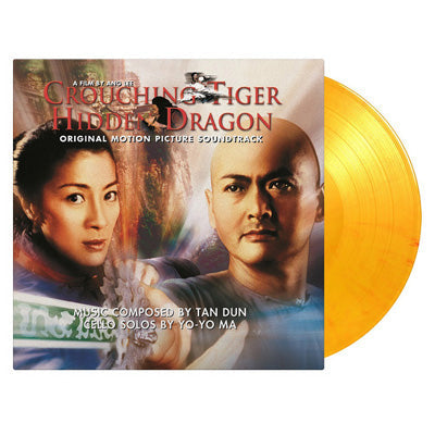 Crouching Tiger, Hidden Dragon Soundtrack (Limited Edition'Flaming' Coloured Vinyl)