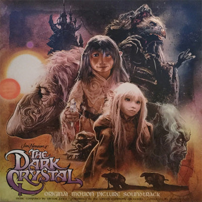 Jones, Trevor - Dark Crystal (Original Motion Picture Soundtrack) (Clear / Purple Vinyl)