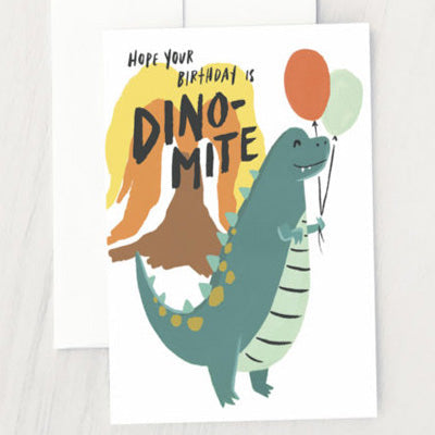 Idlewild Card - Dino-Mite Birthday