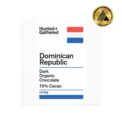 Hunted & Gathered Chocolate - Dominican Republic