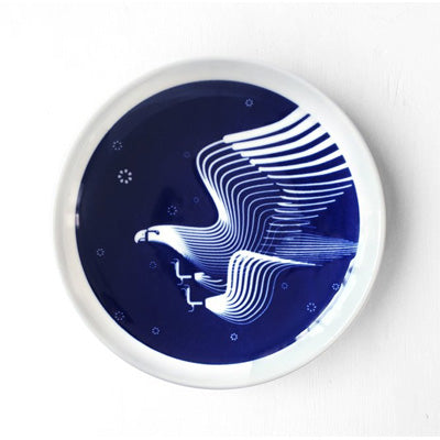 Skimming Stones Porcelain Plate - Wedged-Tailed Eagle