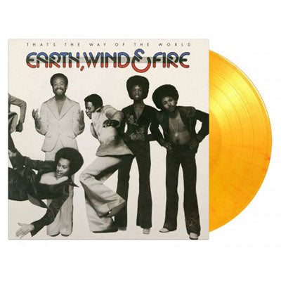 Earth Wind & Fire - That's The Way Of The World (Limited 'Flaming' Orange & Yellow Colored Vinyl)