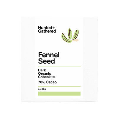 Hunted & Gathered Chocolate - Fennel Seed
