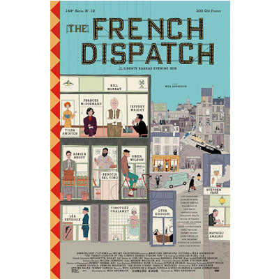French Dispatch : Screenplay