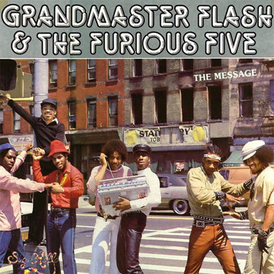Grandmaster Flash & The Furious Five ‎- The Message (Vinyl)