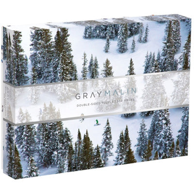 Gray Malin : The Snow Two-sided Puzzle