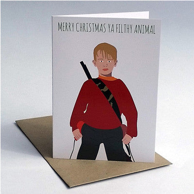 Meet Me In Shermer Card - Home Alone Christmas