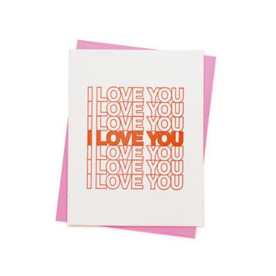 Ashkahn Card - I Love You