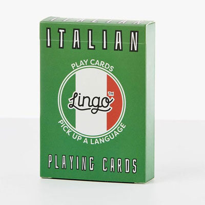Lingo Playing Cards - Italian