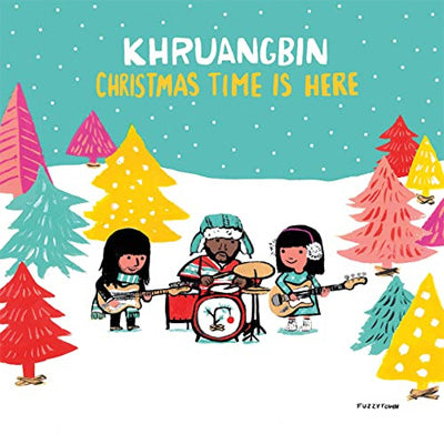 "Khruangbin - Christmas Time Is Here (Limited Edition Red 7"" Vinyl)"