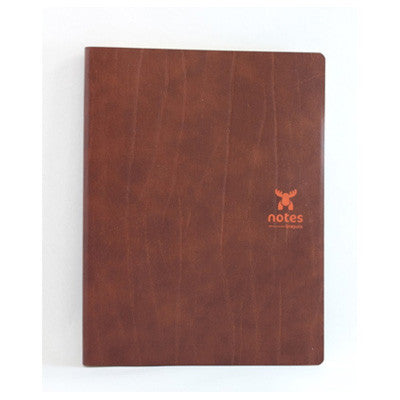 Brepols Moose Leather Notebooks