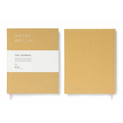 Darling Clementine R.P.S. Lined Notebook - Mustard