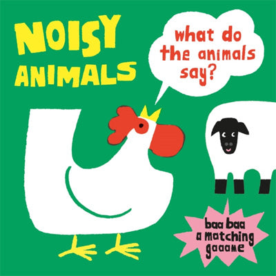 Noisy Animals : What Do the Animals Say? Memory Game