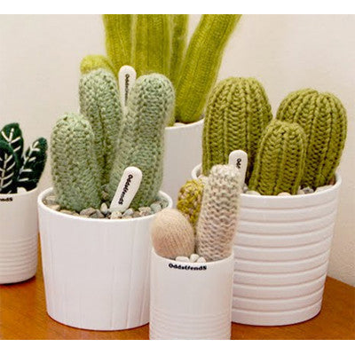 Knitted Cactus - Large