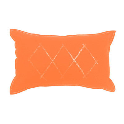 Cushion - Pony Rider Orange Diamond