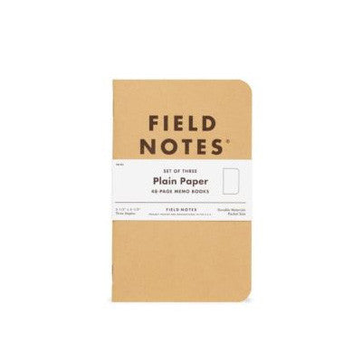 Field Notes - Original Plain Notebooks