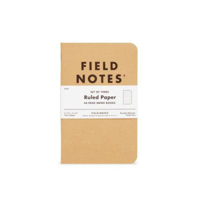 Field Notes - Original Ruled Notebooks