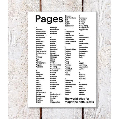 Pages - The world atlas for magazine enthusiasts