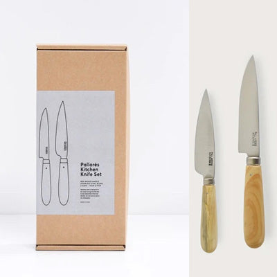 Pallarès Stainless Steel Kitchen Knife Set