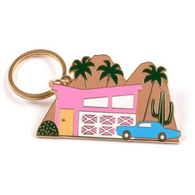 Megan McKean Keyring - Palm Springs