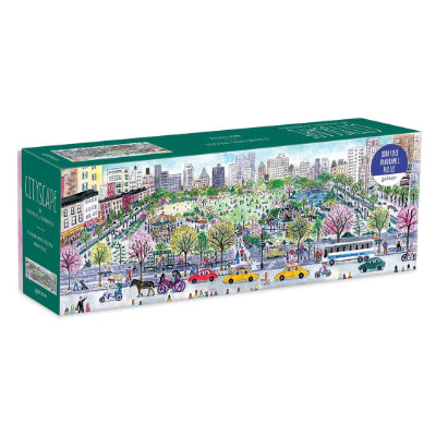 Michael Storrings Panoramic Cityscape 1000 Piece Puzzle