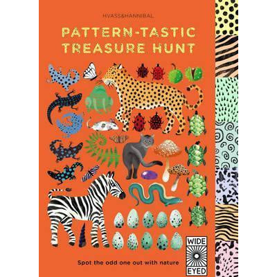 Pattern-tastic Treasure hunt: Learn your colours with nature