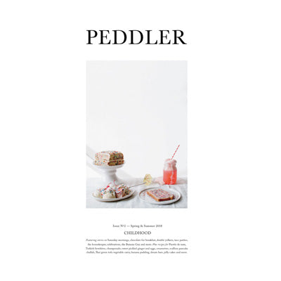 Peddler Journal Issue Two: Childhood by Hetty McKinnon